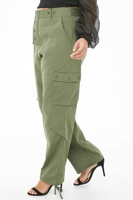 Forever 21 Plus Size Cargo Trousers