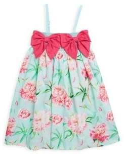 Little Girl's & Girl's Letticia Smocked Cotton Dress