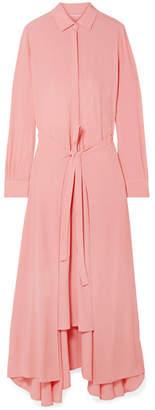 Rosetta Getty Crepe Maxi Dress - Blush