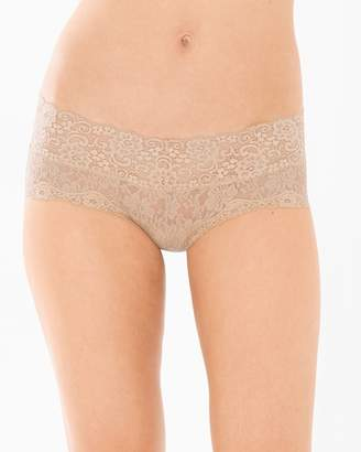 Embraceable Allover Lace Cheeky Boyshort