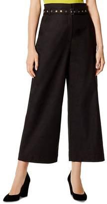 Karen Millen Utility Belted Culottes