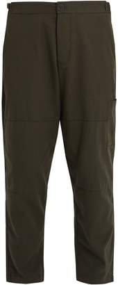 Oliver Spencer Judo tapered-leg cropped cotton trousers