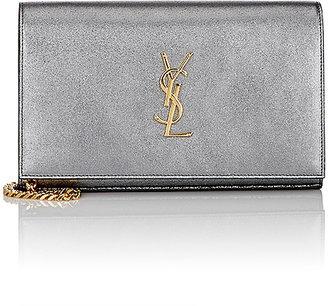 Saint Laurent Women's Monogram Chain Wallet $1,650 thestylecure.com