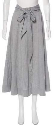 Lisa Marie Fernandez A-Line Midi Skirt