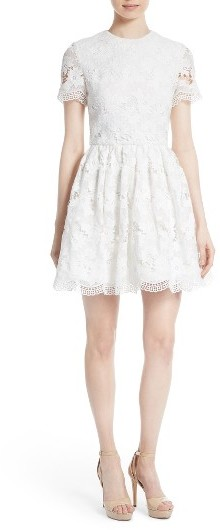 Alice + Olivia Women's Alice + Olivia Joyce Lace Party Dress