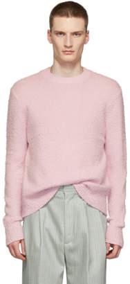 Acne Studios Pink Peele Sweater