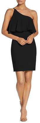 Dress the Population Sabrina One-Shoulder Dress