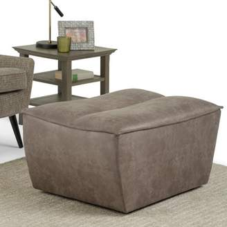 Simpli Home Julian Large Rectangular Ottoman