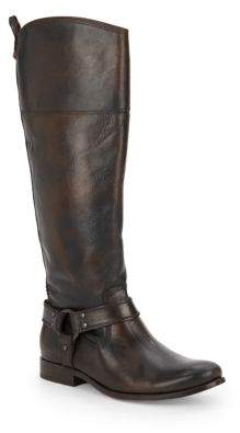 Melissa Leather Harness Boots $438 thestylecure.com
