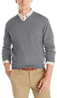 Cutter & Buck Men's Douglas V-Neck Sweater