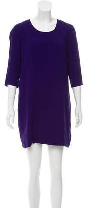 Chloé Three-Quarter Sleeve Mini Dress