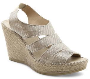 Andre Assous Laurel Espadrille Wedge Sandals $179 thestylecure.com