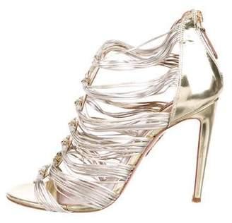 44f39d59c Gold Multi Strap Women s Sandals - ShopStyle