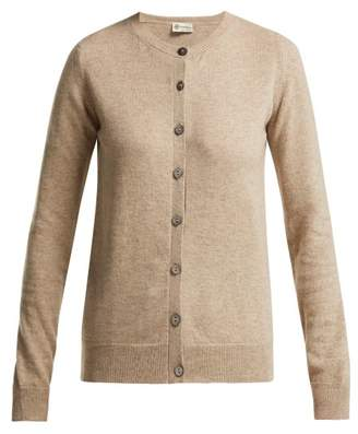 BEIGE Connolly - Long Sleeve Cashmere Cardigan - Womens