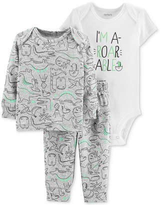 05eda1d77bd3 Carter s Gray Boys  Bodysuits - ShopStyle