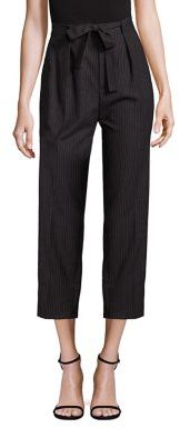 Polo Ralph Lauren Wool Cropped Wide-Leg Pants $245 thestylecure.com