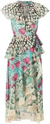 Temperley London Garden Cacti printed dress