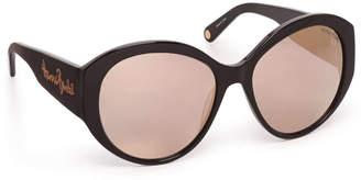 Henri Bendel Shannon Round Sunglasses