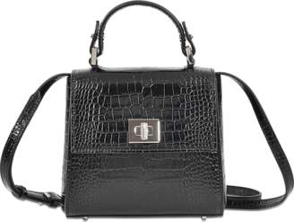 Hugo Boss Bespoke Micro-Cs Top Handle Bag $1,045 thestylecure.com