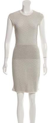 Alexander McQueen Patterned Knee-Length Dress Patterned Knee-Length Dress