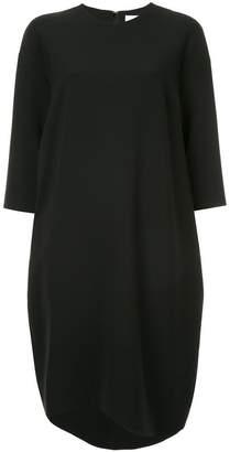 Enfold mid length shift dress