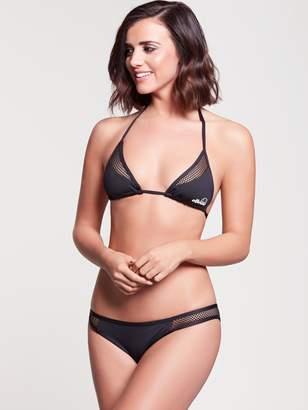 Ellesse Heritage Mesh Panel Halter Neck Bikini