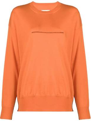 MM6 MAISON MARGIELA seam detail sweatshirt