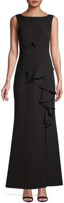 Eliza J Drapey Sleeveless Gown