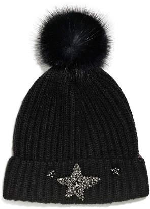 Victoria's Secret Victorias Secret Winter Angel Sparkling Star Hat