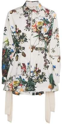 ADAM by Adam Lippes floral print anorak jacket