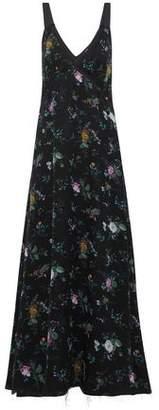 R 13 Floral-Print Silk Crepe De Chine Maxi Dress