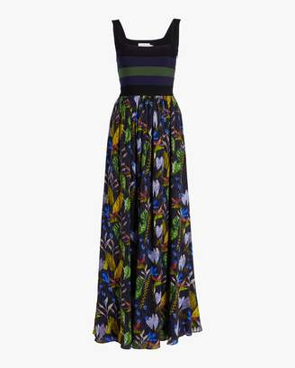 Tanya Taylor Felicia Tropical Gown