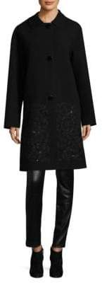 Lafayette 148 New York Vita Embroidered Coat