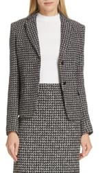 BOSS Jomanda Tweed Suit Jacket