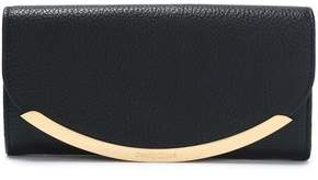 See by Chloe Lizzie Pebbled-Leather Continental Wallet