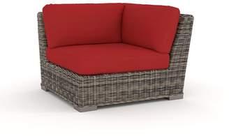 Pottery Barn Sectional Corner Chair Cushion Slipcover Set