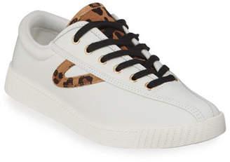 Tretorn Nylite Plus Suede Low-Top Sneakers