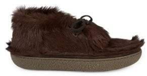 Prada Calf Hair Chukka Boots