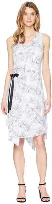 Ellen Tracy Ruched Dress Women's Dress