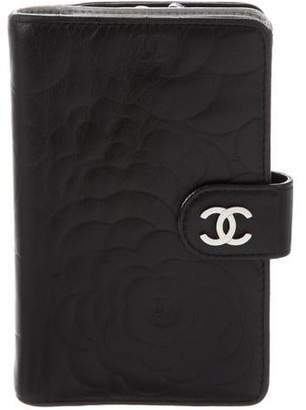 Chanel Camellia French Purse Wallet