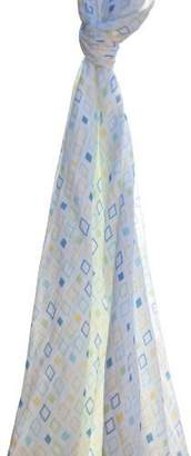 Angel Dear Swaddle Blanket, Square Print by