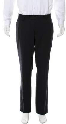 John Varvatos Cropped Flat Front Dress Pants