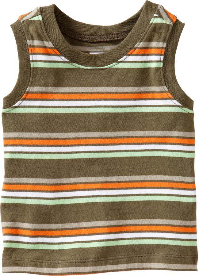 Old Navy Striped Muscle Tees for Baby
