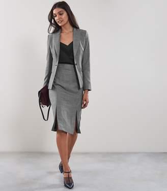 Reiss ALBER Skirt TAILORED PENCIL SKIRT Grey