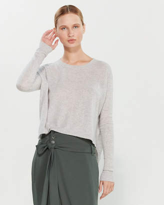 Liviana Conti Grey Boxy Cashmere Sweater