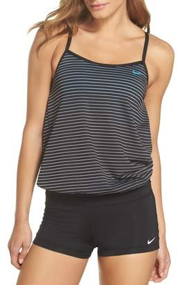 Nike Layered Sport Tankini Top