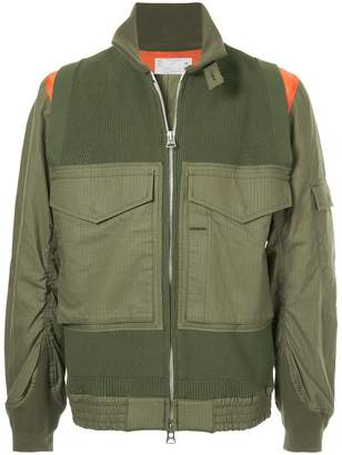 Sacai zipped pocket jacket