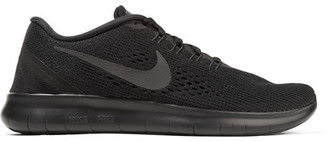 Nike - Free Rn Mesh Sneakers - Black $110 thestylecure.com