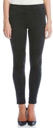 Women's Karen Kane Faux Suede Knit Skinny Pants $109 thestylecure.com
