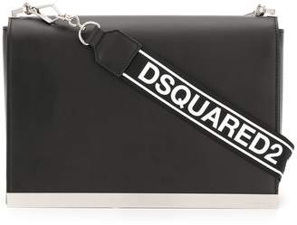 DSQUARED2 brand embossed shoulder bag